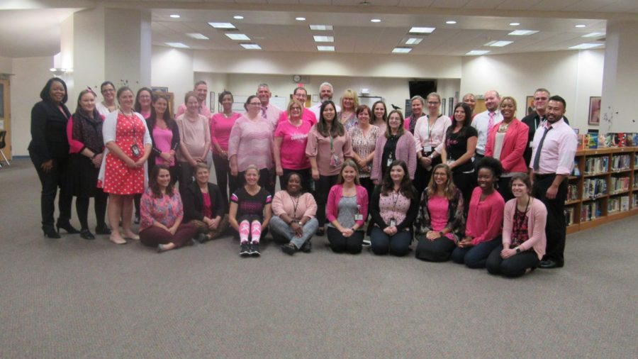 WTMS Goes Pink for Breast Cancer Awareness
