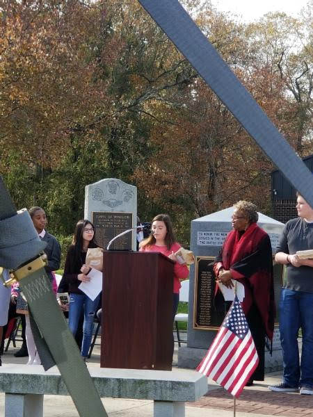 WTMS Students Honor Veterans Through Essay Contest