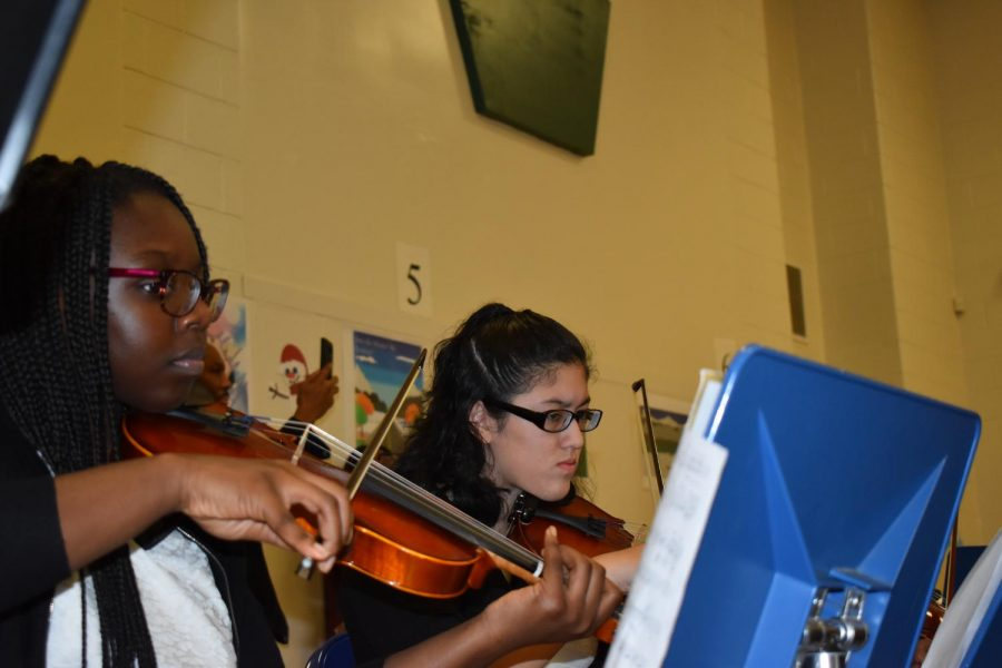 Winter Concert Shines a Light on WTMS Musicians