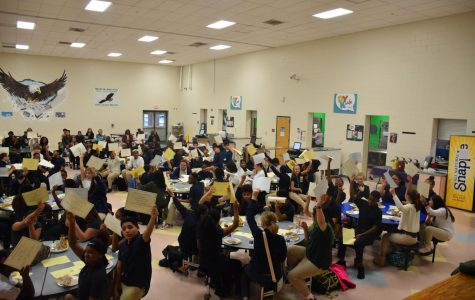Honor Roll Breakfast Highlights Student's First Marking Period Efforts