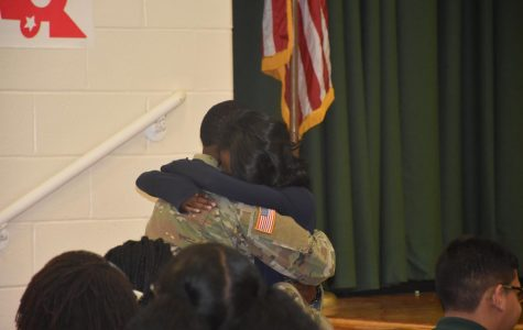 Soldier Surprise Brings Joy to Honor Roll Breakfast