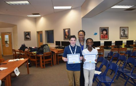Harris, Olabode Pin Wins on the Map During Geography Bee