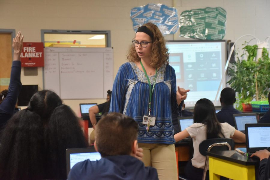 Ms.+Fernicola+Wins+Teacher+of+the+Month+for+December