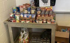 SGA's Food Drive Brings Thanksgiving to Greater Winslow Community